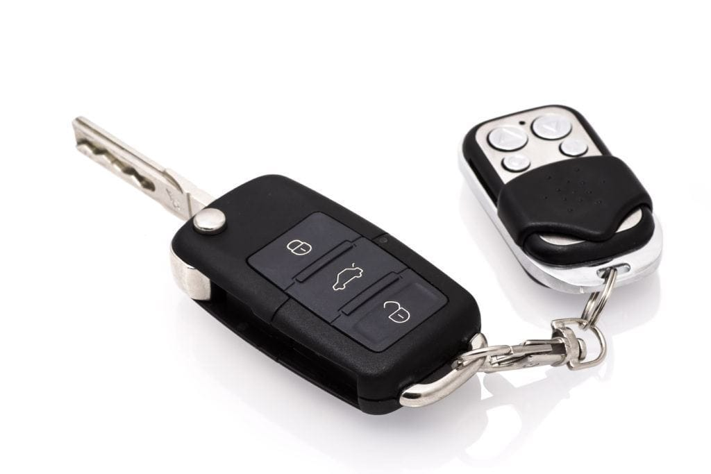 Автомобильный ключ с чипом