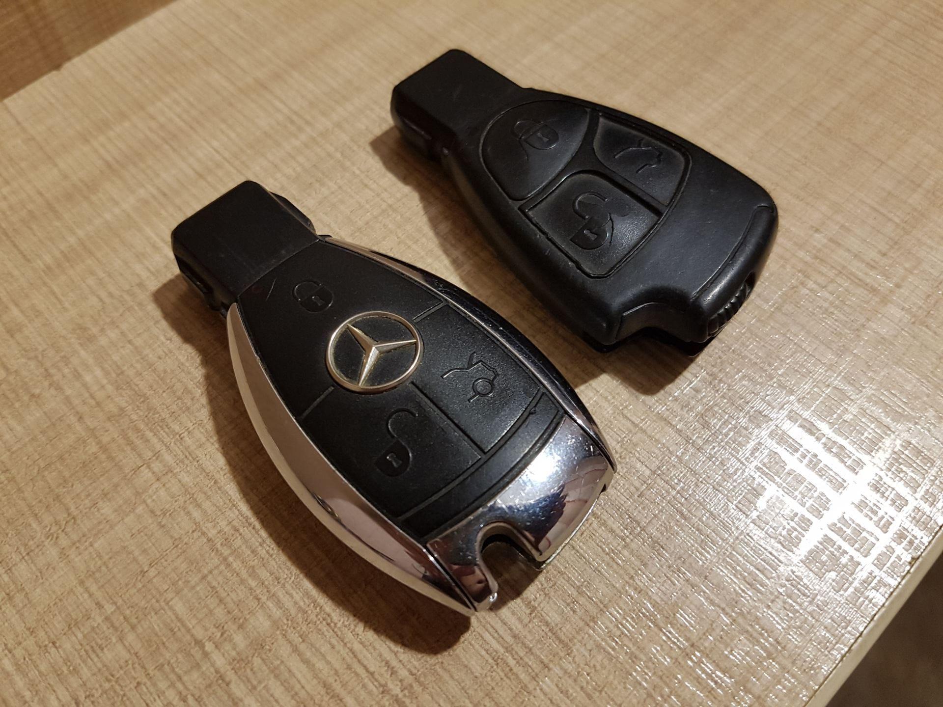 Купить корпус от ключа на Мерседес