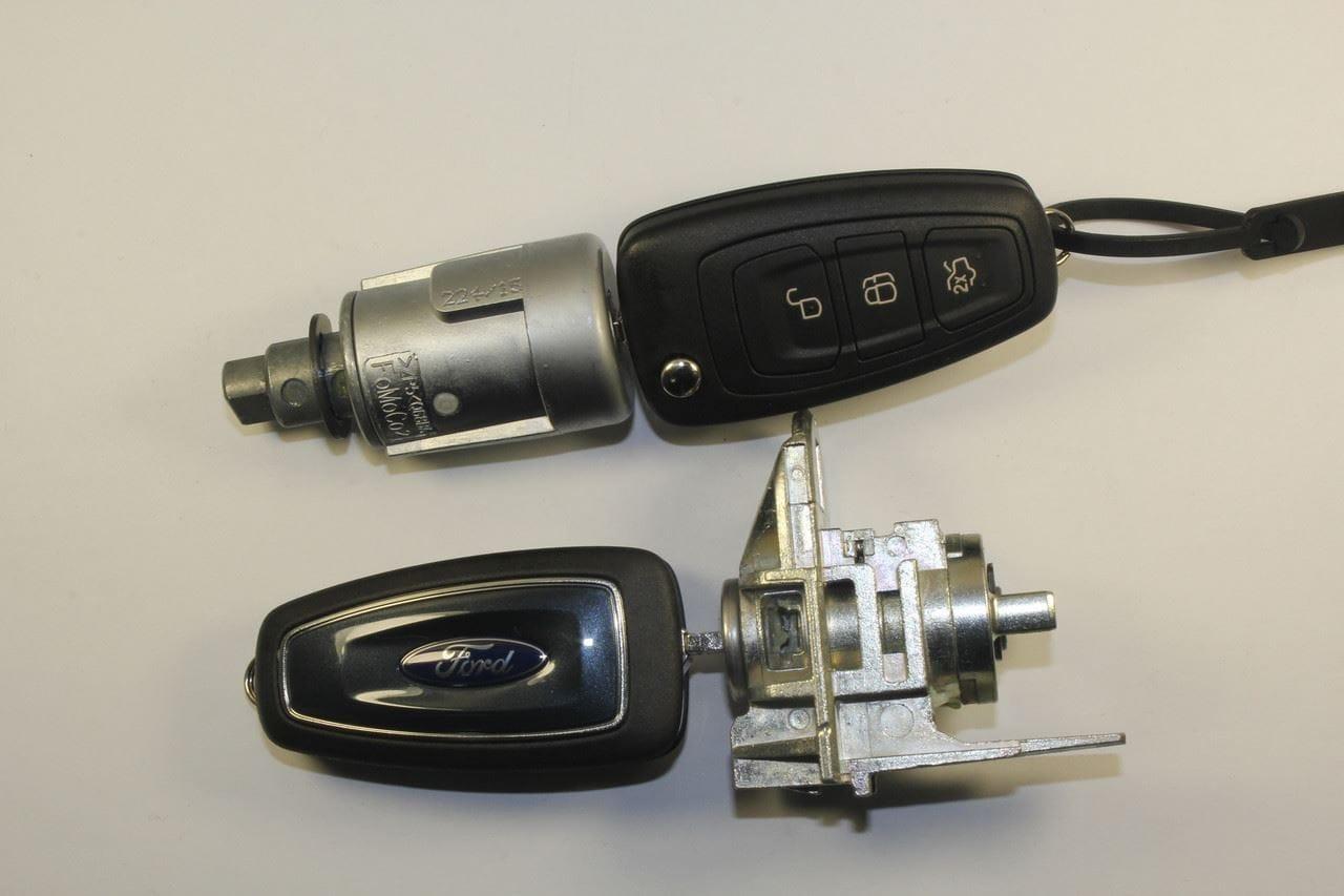 Ремонт личинки замка двери автомобиля